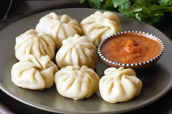 All Time Favourite Street Food Recipes: Classic Chicken Momos