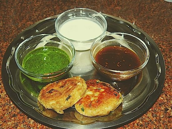 Tea Time Snacks: Mini Alu Tikki Recipe